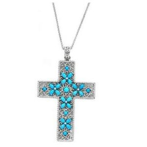 Jewelry - NWOT GENIUNE SLEEPING BEAUTY CROSS